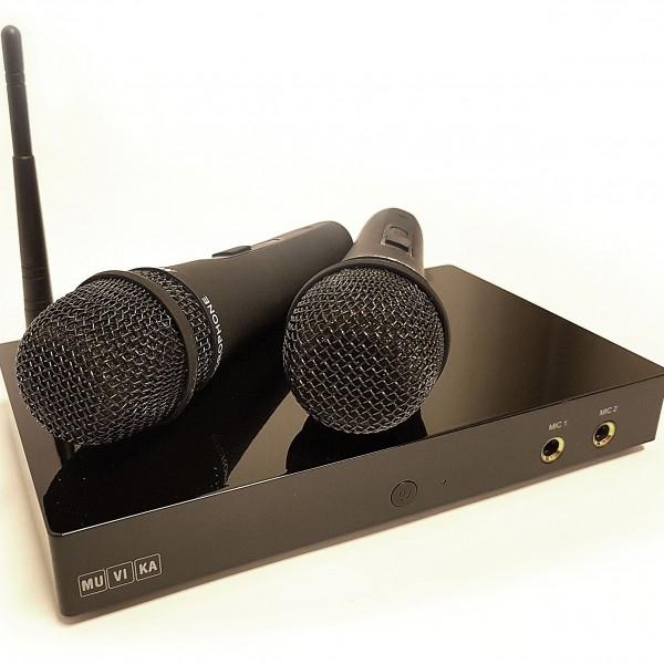 Muvika Box ja Madboy-mikrofonit