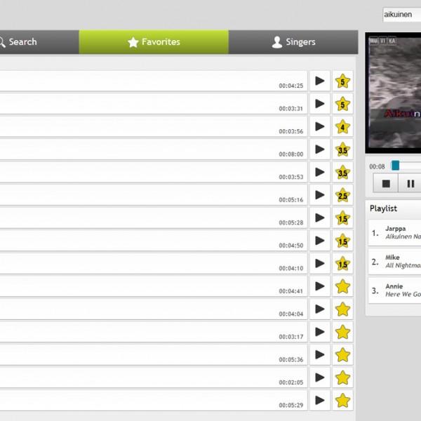 Muvika Online Karaoke Screenshot
